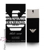 EMPORIO ARMANI DIAMONDS BLACK CARAT MAN
