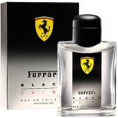 FERRARI  BLACK SHINE MEN