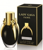 LADY GAGA BLACK FLUID  WOMAN